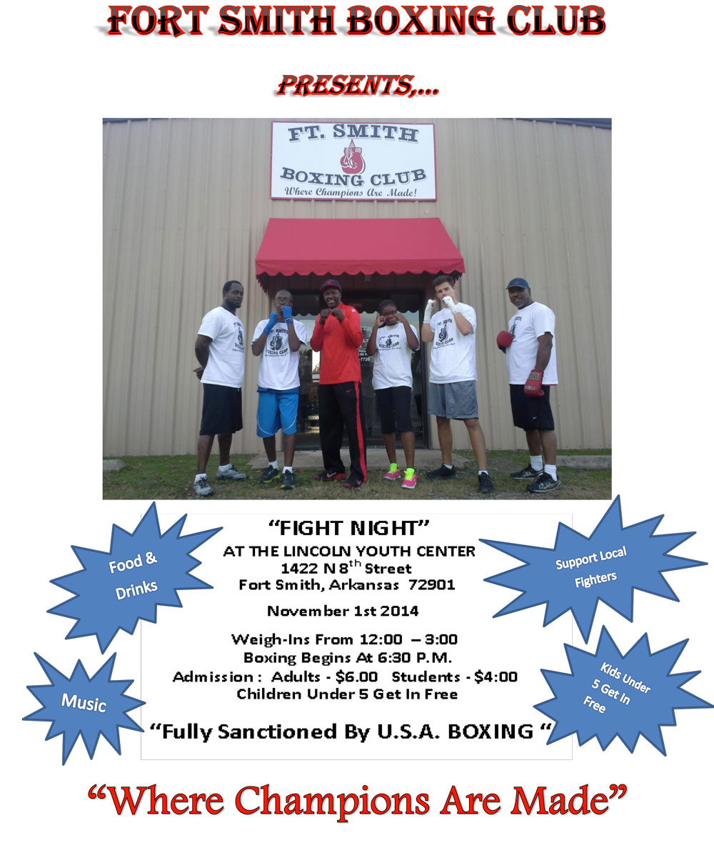 Fort-Smith-Boxing-Club-Fight-Night-Flyer-Nov-14
