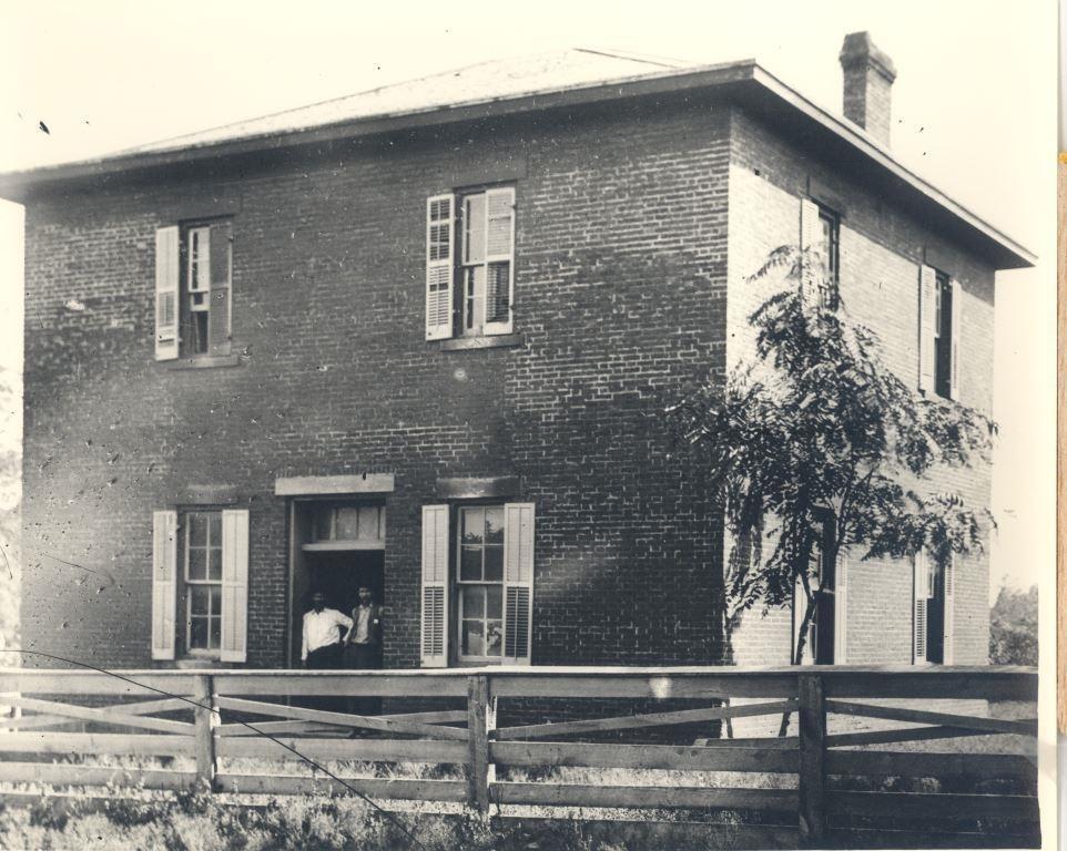"Photograph: ""Cherokee Advocate Newspaper"" Tahlequah, Indian Territory c1896-1906."